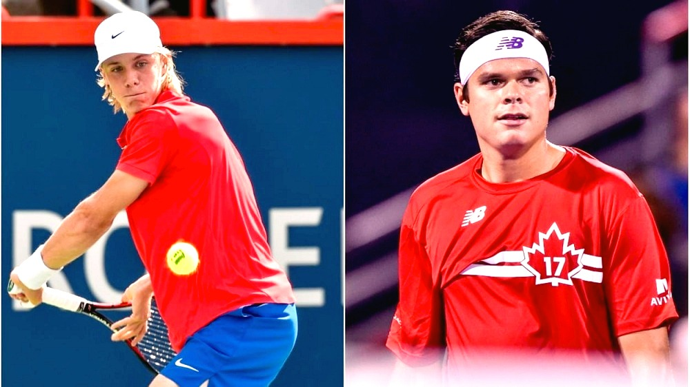 Success stories of Milos Raonic and Denis Shapovalov