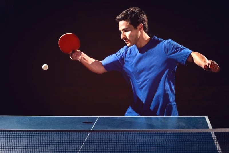 Rules of table tennis